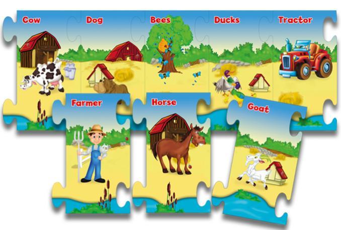 Farmyard Never ending Puzzle